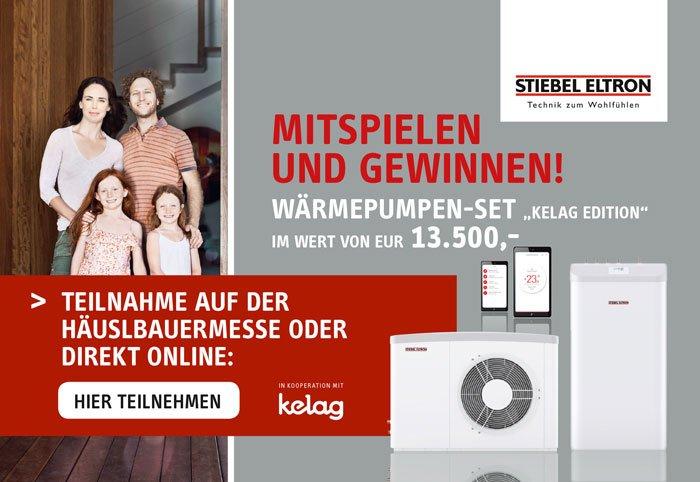Striebel Gewinnspiel Häuslbauer Messe