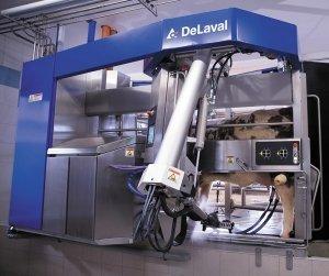 Agrarmesse Highlight DeLaval VMS™ milking system V300