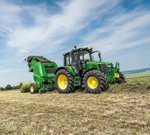 Agrarmesse präsentiert John Deere Serie 6M