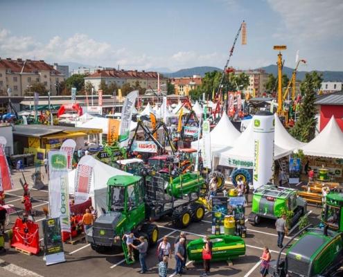 Forstbereich - internationale Holzmesse Klagenfurt