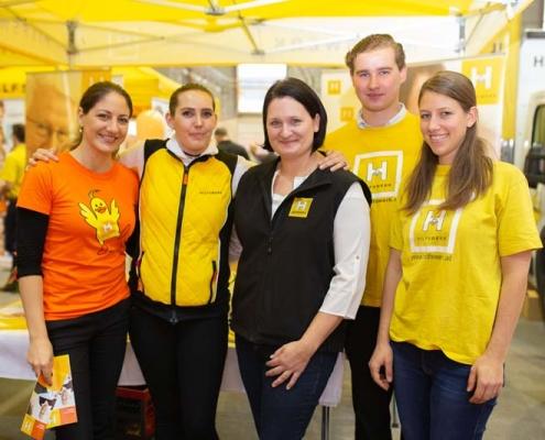 Hilfswerk als Aussteller im Rahmen der Familienmesse