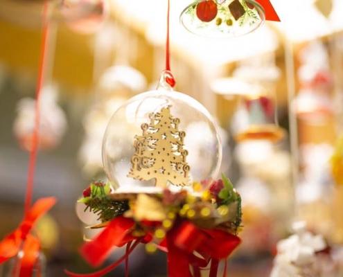 Weihnachtsschmuck - Ausstellungsbereich