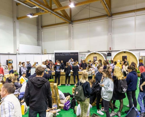 Go Green in Halle 2 zur Herbstmesse 2019