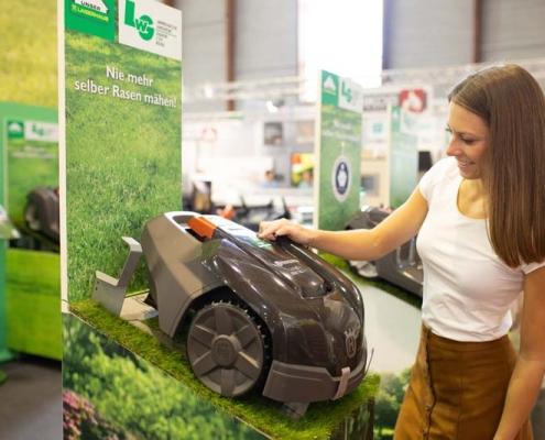 Thema Rasenpflege - Go Green - Herbstmesse 2019