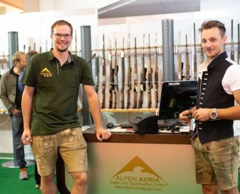 Alpen Adria Jagd- und Sportwaffen auf der Treffpunkt Jagd