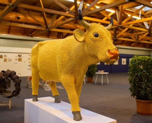 Kunstparkzone in Halle 3 zur Herbstmesse 2019