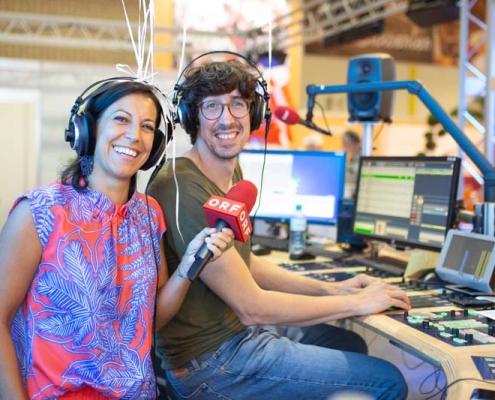 ORF Kärnten live im Rahmen der Herbstmesse 2019