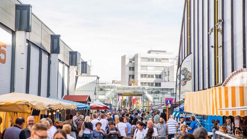 Streetfood Außenbereich Herbstmesse 2019