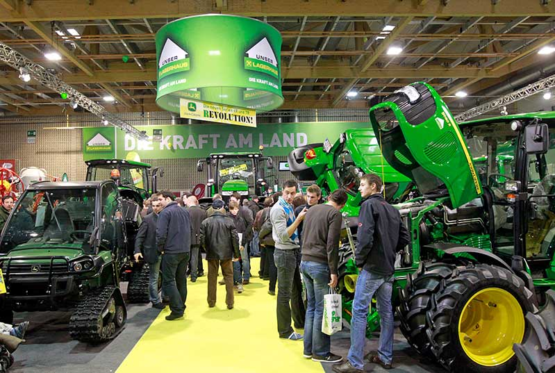 Ausstellung Agrarmesse Maschinen