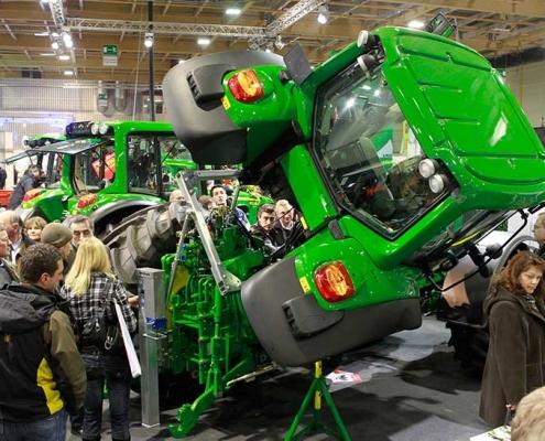 Landmaschinen auf der Agrarmesse 2020