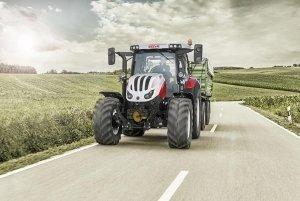 Steyr Transport Traktor auf der Agrarmesse