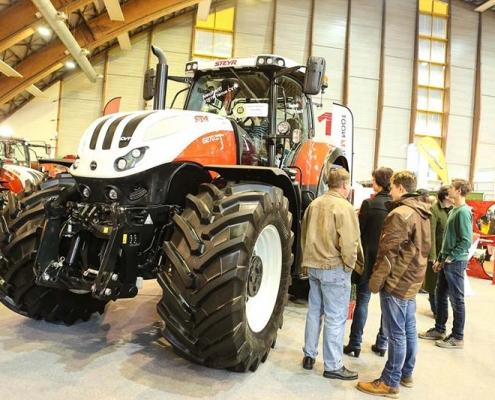 Traktoren auf der Agrarmesse Klagenfurt